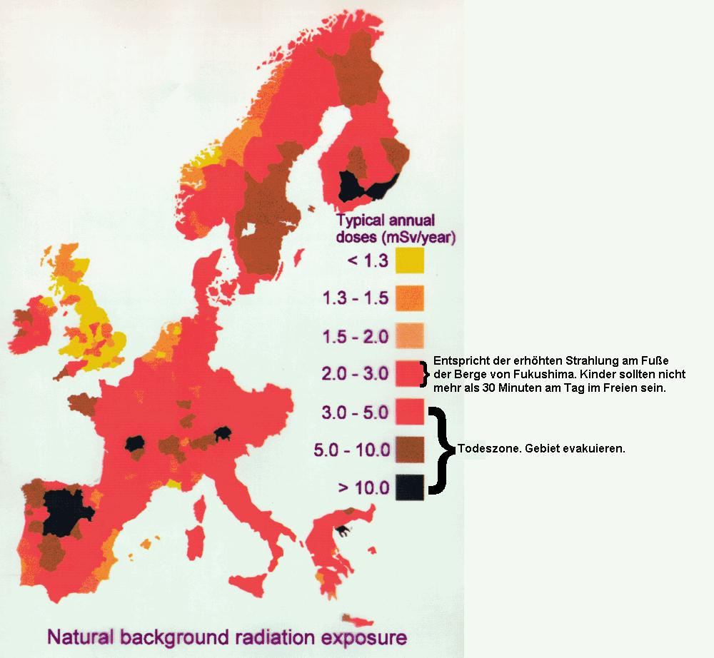 Strahlenschutz Strahlenbelastung Internet Vademecum A