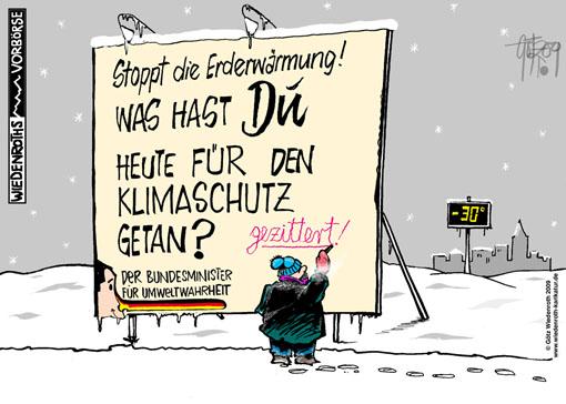 Bildergebnis für klimasünder karikaturen