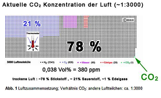 Anteil Co2 In Der Luft