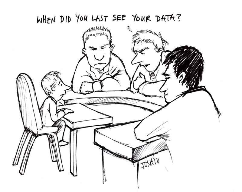 When did you last see your data?