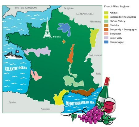 Wine Regions France