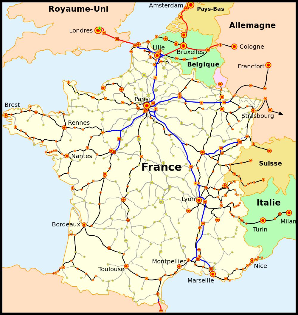 Horaires des trains entre VALENCE et GRENOBLE - Horaire train